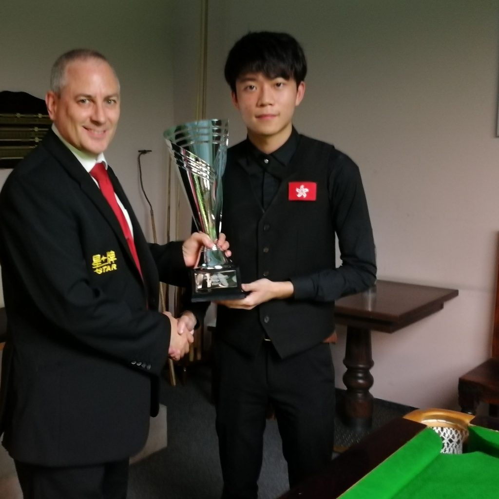 CHEUNG THE CHAMP AT CHALLENGE TOUR ONE